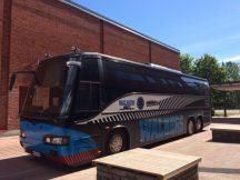 Den nya Walkers-bussen är nu klar!