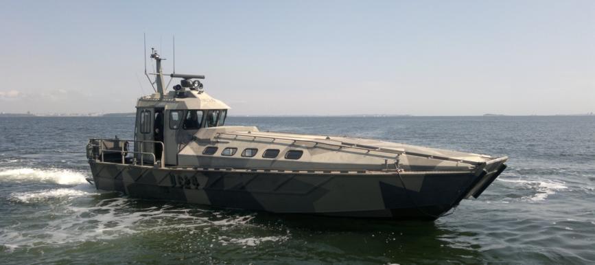 Pelikangillets oljebekämpningsbåt är snart klar för sjösättning
