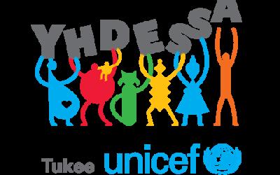 YHDESSÄ-donatorerna var på besök hos Unicef 14.2.2018