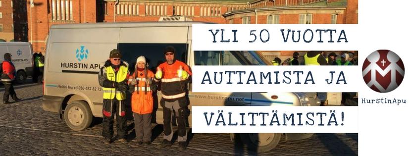 ALH-stiftelsen är med och stöder Veikko ja Lahja Hurstin Laupeudentyö ry:s julfest för ensamma och sämre bemedlade