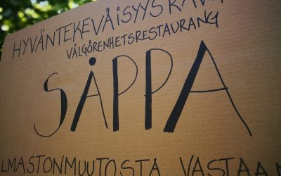Stiftelsens ungdomar öppnade välgörenhetsrestaurangen SÅPPA på restaurangdagen 2019