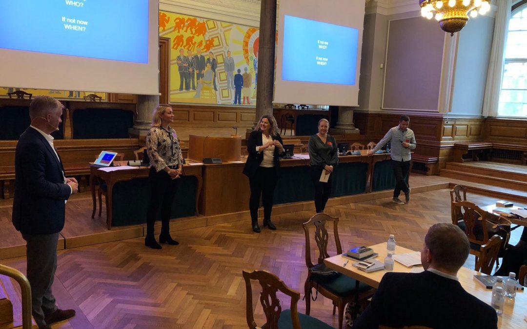 Nordiska familjer hade intresse för HAPPY-projektet